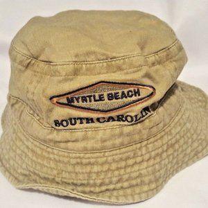 Myrtle Beach South Carolina Bucket Hat Size 61 CM